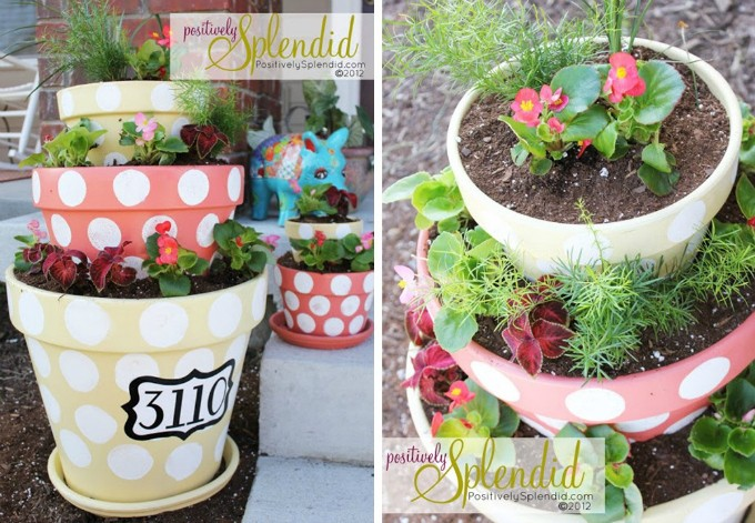 10 STACKED FLOWERPOT IDEAS TO INSPIRE