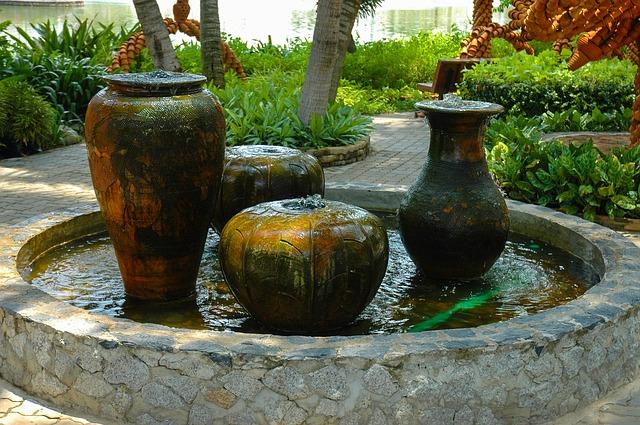 Small Garden Fountains